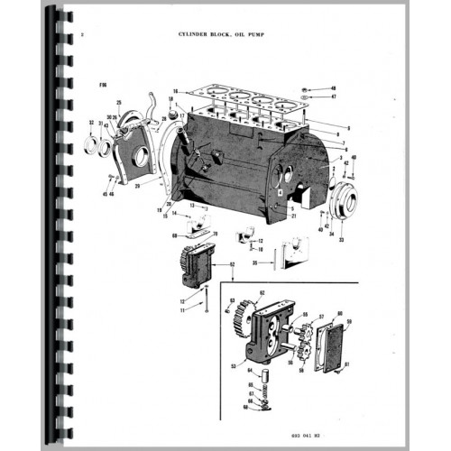 Ferguson TEA20 Tractor Parts Manual (1948-1956)