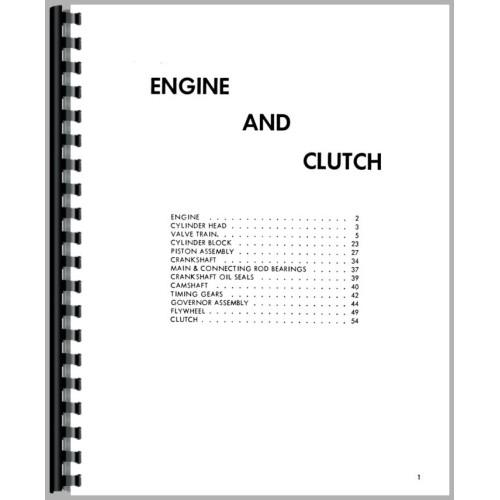 ferguson to20 tractor service manual  1948