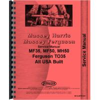 Massey Ferguson 35 Tractor Service Manual (1960-1965) (US Built)