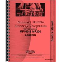 Massey Ferguson 165 Loader Attachment 100 Service Manual