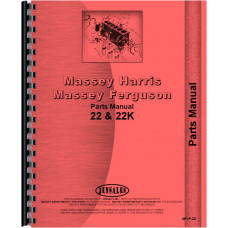 Massey Harris Tractor Parts Manual (22 Tractor | 22K Tractor)