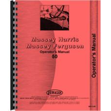 Massey Harris 50 Tractor Operators Manual