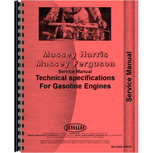 Mey Harris Continental F140, F162, F226 Service Manual on