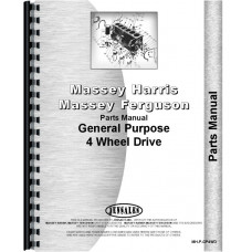 Massey Harris GP Tractor Parts Manual[MH-P-GP4WD]