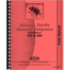 Massey Harris Tractor Parts Manual