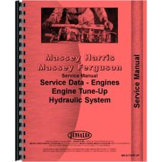 Massey Harris Mustang Engine Service Manual