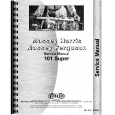 Massey Harris 101 Super Tractor Service Manual
