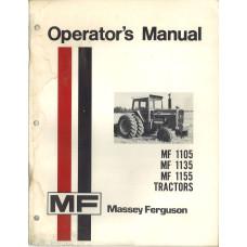 Massey Ferguson 1135 Tractor Operator's Manual