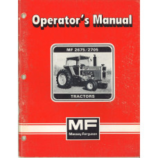 Massey Ferguson 2705 Tractor Operator's Manual