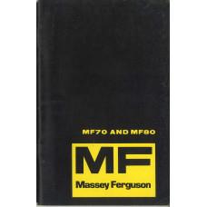 Massey Ferguson 80 Industrial Tractor Operator's Manual