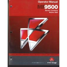 Massey Ferguson 9520 Combine Operator's Manual