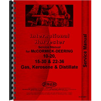 Mccormick Deering 20-10 Tractor Service Manual