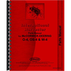 Mccormick Deering W4 Tractor Engine Parts Manual