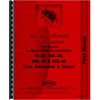 Mccormick Deering WD40 Tractor Parts Manual