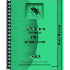 Image of Michigan 175 III Wheel Loader Parts Manual