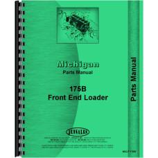 Image of Michigan 175B Wheel Loader Parts Manual (SN# 427A101 and Up) (427A101+)