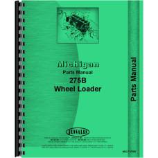 Image of Michigan 275 Wheel Loader Parts Manual