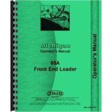 Michigan 85A Wheel Loader Operators Manual