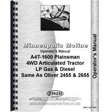 White 2455 Tractor Operators Manual