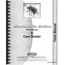 Image of Minneapolis Moline D Corn Sheller Parts Manual (SN# 38401501 and Up)