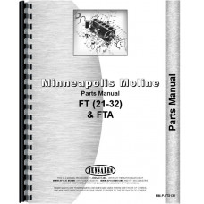 Minneapolis Moline Twin City Tractor & Parts Manual (MM-P-FT2132)