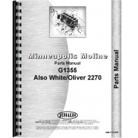 Minneapolis Moline G1355 Tractor Service Manual (IT Shop) on