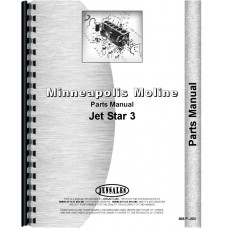 Minneapolis Moline Jet Star 3 Tractor Parts Manual