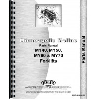 Minneapolis Moline MY70 Forklift Parts Manual