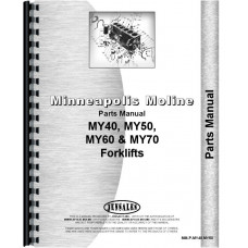 Minneapolis Moline MY40 Forklift Parts Manual