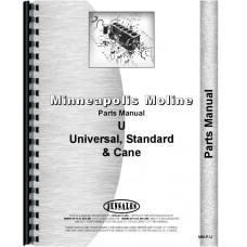 Minneapolis Moline UTN Tractor Parts Manual (1947-1951, SN#34001-01108297) (Engine)