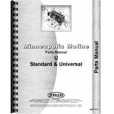 Minneapolis Moline UTS Tractor Parts Manual (SN# 7501-325212) (7501-325212)