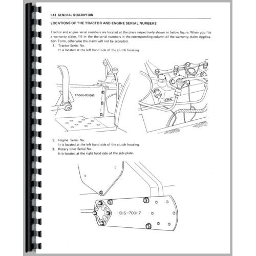 mitsubishi d1300 tractor service manual rh jensales com