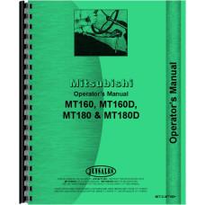 Mitsubishi MT160 Tractor Operators Manual