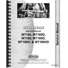 Mitsubishi MT160 Tractor Service Manual