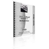 New Holland 846 Round Baler Operator's Manual