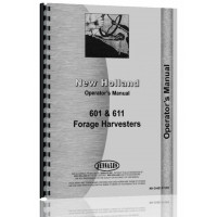 New Holland 601 Forage Harvester Operators Manual