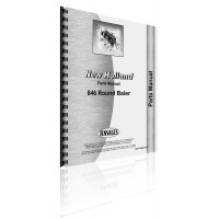 New Holland 846 Round Baler Parts Manual