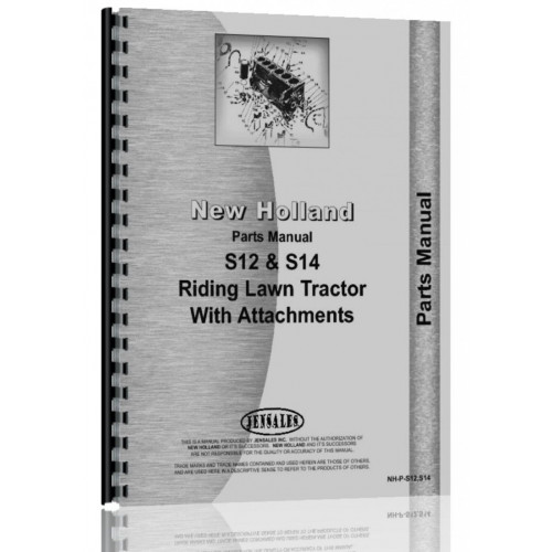 New Holland S14 Lawn & Garden Tractor Parts Manual