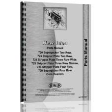 New Idea 720, 723, 724, 725, 728, 730 Corn Head Parts Manual
