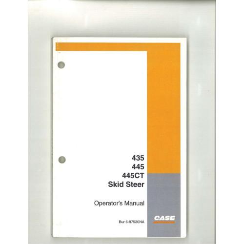case 445ct skid steer operator s manual 6 87530na rh jensales com Case 445 Problems Case 445 Skid Steer Parts