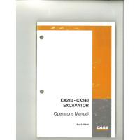 Case CX210 Excavator Operator's Manual (6-25940)