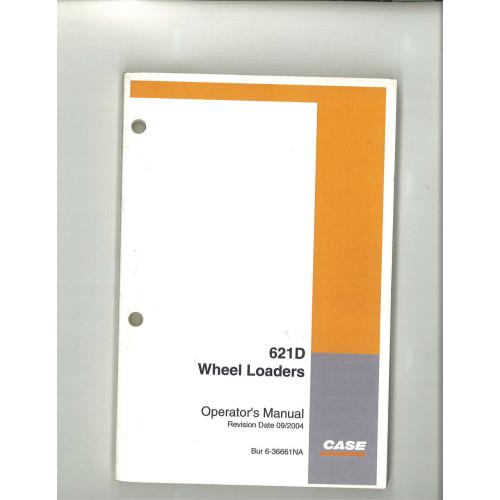 case 621d wheel loader operator s manual 6 36661na rh jensales com Case 621D Wheel Loader 2005 621 Case Loader Specs