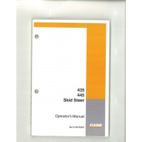 Case 445 Skid Steer Operator's Manual (6-39750NA)