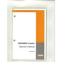 Case 650G Crawler Dozer Operator's Manual