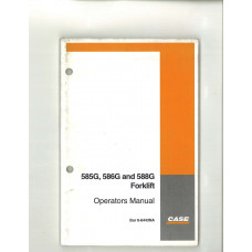 Case 588G Forklift Operator's Manual (6-6443NA)