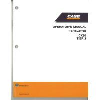 Case CX80 Excavator Operator's Manual (87490339NA)