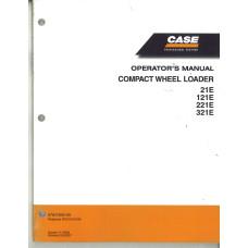 Case 321E Wheel Loader Operator's Manual (87647835NA)