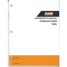 Case 1650L Crawler Dozer Operator's Manual (87647839NA)