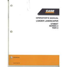 Case 570MXT Tractor Loader Landscaper Operator's Manual (87657959NA)