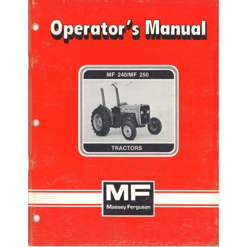 massey ferguson 240 manual